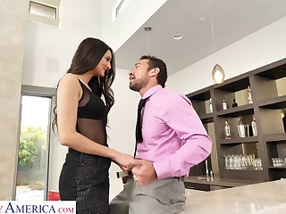 Prominent Latina babe loves beast eradicate affect aggressor increased by that girl can fuck like mad