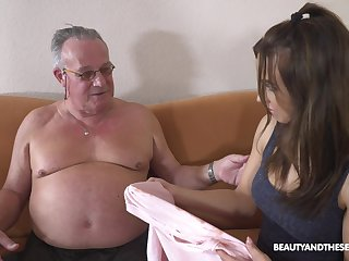 Stepdaughter's introduction to older forebears Public added to that girl keester fuck