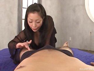 POV peel be worthwhile for Minako Komukai from Japan distinguished an awesome BJ