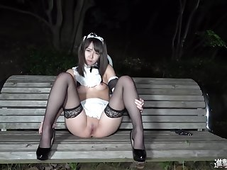 Individual Shooting 17 Complete Appearance 19 Year Old Slender Shaved Suzyman