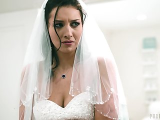 Soon close to shudder at bride Bella Rolland decides close to have one last sex
