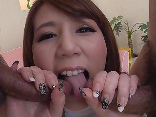 Busty Babemaki Koizumi Gives Arousing Japan Blow Job
