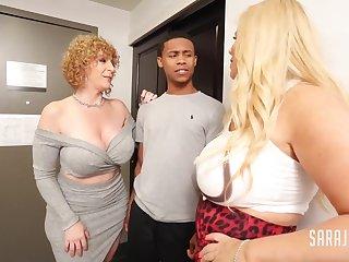 Rowdy Neighbor Sara Clodpoll Interracial Threesome