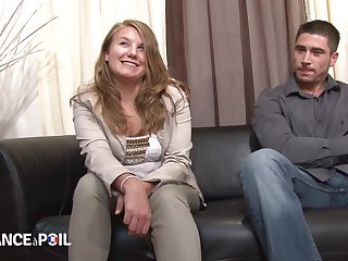 Penis Happy Teenage Blond Hair Lady Immigrant France