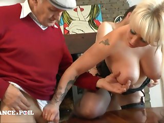 Full-Breasted Tattoed Blond Assfucking Shagged In Eternal Fuck