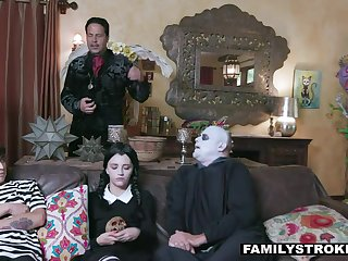 Frightful Poetic (step) family cosplay 4 halloween is a must!
