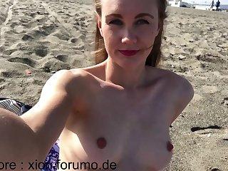 Public Beach Ivi Circulate Squirt More than Dildo