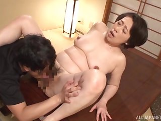 Japan grown up hardcore sex in flawless missionary
